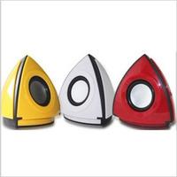 Speaker audio computer speaker 012 pyramid subwoofer usb speaker on the box