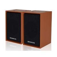 Audio speaker pure wood audio wool sound on the box 2.0 audio bass