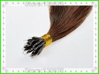 hot selling !wholesale price real hair ,no mixed ,nano ring hair extensions ,Popular nano hair ,1g/strand nano ring hair