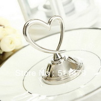 NEW ARRIVAL+Factory Outlet Wholesales Heart Themed Place Card Holder Party&Wedding Favors+100pcs/lot+FREE SHIPPING