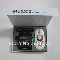 New RF 20M Effective Intelligent RGB Music Controller Sonic Sensitivity & Remote