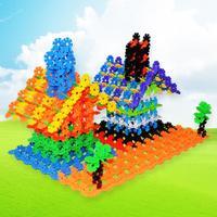 10 color upgrade snowflake creative handsModel Building Kits Models  Building Toy 400pcs/lot sent packing