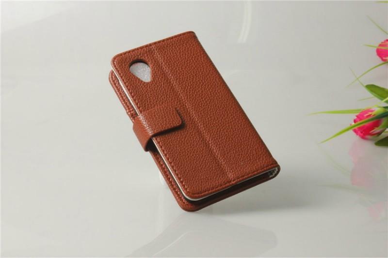Para LG Nexus 5 Case, Litchi Wallet PU caso capa carteira para LG Google Nexus 5 E980 Stand com cartão de crédito(China (Mainland))