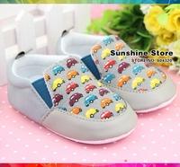 Gray sapato de bebe infant baby shoes store sandals cloths girl fabric sandalias menina;boy's prewalker #2B2052 3 pair/lot(gray)