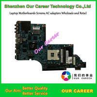Top quality,For HP DV7-6000 665991-001 laptop motherboard,ystem board