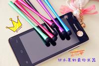 Metal Slim Waist Shaped Design Stylus Touch Pen Capacitive For  Mobile Phone Tablet PC 200pcs/lot