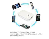 power bank  10000mah  Portable Power Bank with 1W LED light 2 USB outputs