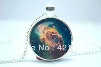 10pcs/lot Galaxy Necklace, Nebula Jewelry, Stars And Universe Hipster Space Pendant  8
