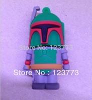 New star wars green warrior model usb flash drive pendrive 4-32GB free shipping