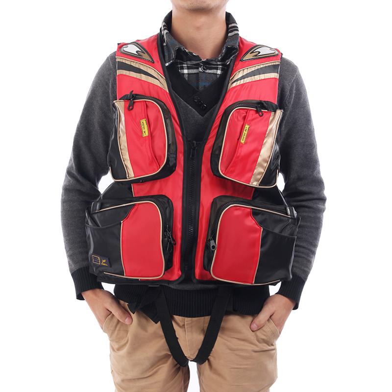 Snorkel Vest Co2 Adult Professional Fashion Multi Pocket Vest Life Jacket Snorkel Life Vest