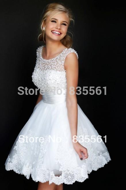 White Cocktail Dress Cheap - Ocodea.com