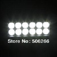 36W Epistar 7INCH Epistar led light bar 2520LM FLOOD BEAM 4X4 OFF ROAD SUV led light bars for trucks