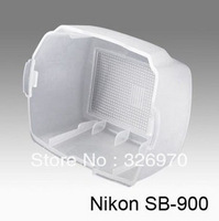 free shipping +tracking number white Flash Bounce Diffuser Cover for nikon  Speedlite SB900 SB 900