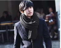 Free shipping(Mix order$10)2013 FASHION WOMEN'S AND Men SCARF Couple Autumn winter scarf Size:220*60CM free shipping