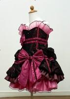 beautiful  baby girl's TUTU skirt ,baby win red lace dance skirt ,5 pcs/lot
