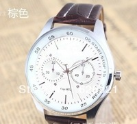 Hot classic casual business watch quartz watches 2013 watch free shipping