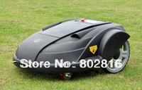 2014 Newest Robot Lawn Mower With Pressure Sensor,Language Option, Subarea Setting Function, Remote control, Auto recharge