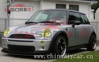 02-06 Mini Cooper S  R50 R52 R53 Carbon Fiber Eb style Front Lip