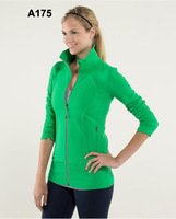 New Lululemon Women Yoga Green Define Jacket  Low Price  Low Wholesale Price Free Shipping Any 5pc By EMS