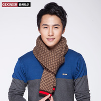 Scarf male autumn and winter 2013 yarn scarf winter thickening warm and knitted muffler scarf