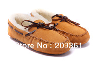 Brand new winter couples flats winter Driving shoes casual women and men winter shoes