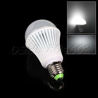 New 21W E27 LED Light Lamp Bulb AC85-260V 110V 220V W/ White Cast Aluminum Shell