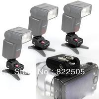 4in1 Nex HotShoe hot Adapter flash trigger with 3 PT-16 receivers for Sony Nex-F3 NexF3 F3 Nex3 NEX5 NEX5N NEXC3 C3 NEX5R PF060