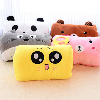 5408 animal square hand warmer sofa cushion kaozhen dual pillow 8