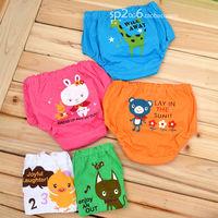 Child briefs baby bread pants cartoon 100% cotton baby bread pants chiddler panties male female child