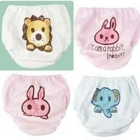 Free shipping Nishimatsuya child panties baby cotton panties 100% trigonometric bread pants legging