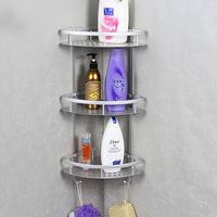 Space aluminum pendant shelf shelving wall bathroom corner shelf bath tubs storage rack