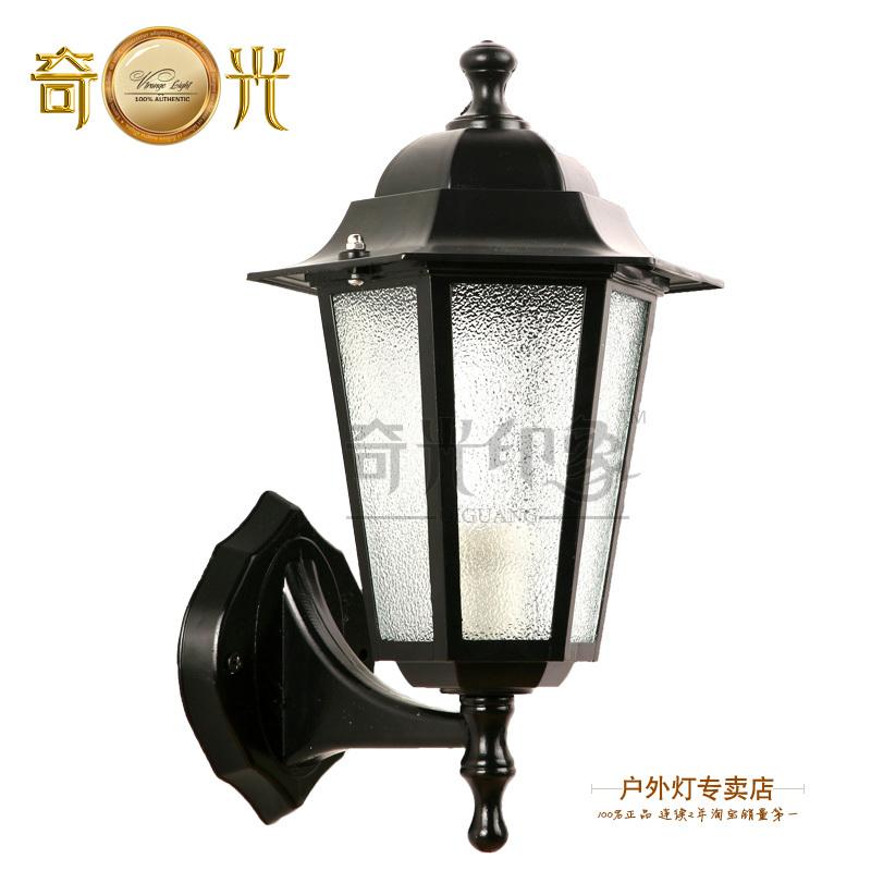 Free shipping outdoor wall lamp light waterproof rustproof e.