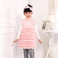 2013 female child tang suit 100% cotton cheongsam dress female child tang suit tank dress t