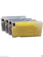 4  Filled Pigment Ink Refillable Cartridge for HP 950 XL 951 XL