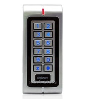 Waterproof Proximity RFID 125KHz ID Card Reader Access Controller System Keypad With Metal Case High-performance W1