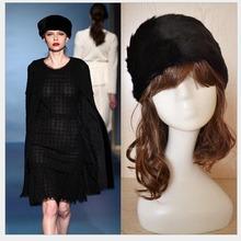 Hot Stylish New Womens Ladies Nice Winter Warm Fashion Faux Rabbit Fur Knitted Hat Cap 5336(China (Mainland))