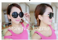 Tassel sunglasses female tide restoring ancient ways round sunglasses in Europe and the elegant sunglasses