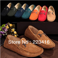 new mens moccasins fashion comfortable casual genuine leather shoes driving shoes for men
