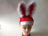 Christmas headband buckle christmas hat santa claus hat christmas decoration