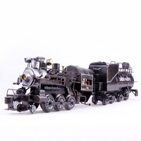 Mettle model train black classic decoration antique cars