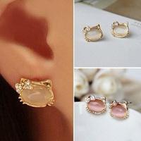 Hearts . accessories gentlewomen - eye earrings popular stud earring