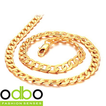 Buy products worth more than $ 10 (mixed product), free shipping,Men's fashion 18 gold-plated series necklace TY-KL441