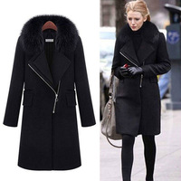 Free Shipping Wholesale Women Winter Fashion  trench Thick coat W242