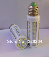 Free shipping LED Corn lights 5730 SMD 9w 42pcs E27 base 220V / led corn lighting E27