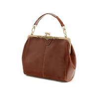 Leather retro bag all-match hand-held diagonal package