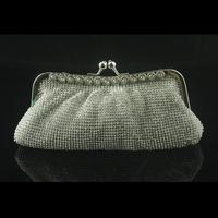 2013 single-row diamond evening bag bride bridesmaid gentlewomen clutch
