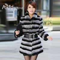 chinchilla rabbit fur coat 2013 rex rabbit cashmere rex rabbit hair fur short design long design g7