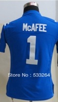 Free Shipping,Cheap ,#1 Pat McAfee Blue Women's Elite American Football Jerseys Sale Embroidery Sewing Logos