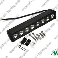 Free Shipping 15'' 8pcsx10W 6800LM 80W CREE LED work light bar Spot/Flood/Combo Offroad head fog light 10-45V Truck Car SUV