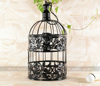 Classic Black cage bird metal decorative cages